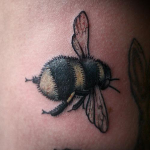 bumblebee tattoo images designs. Black Bedroom Furniture Sets. Home Design Ideas