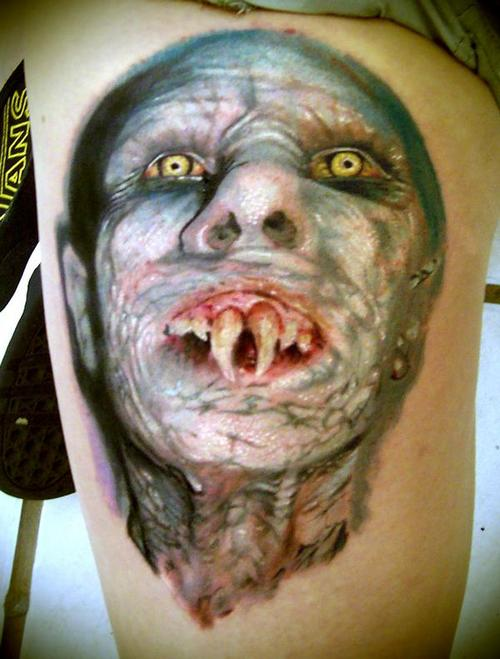 Dangerous Monster Tattoo on Siderib