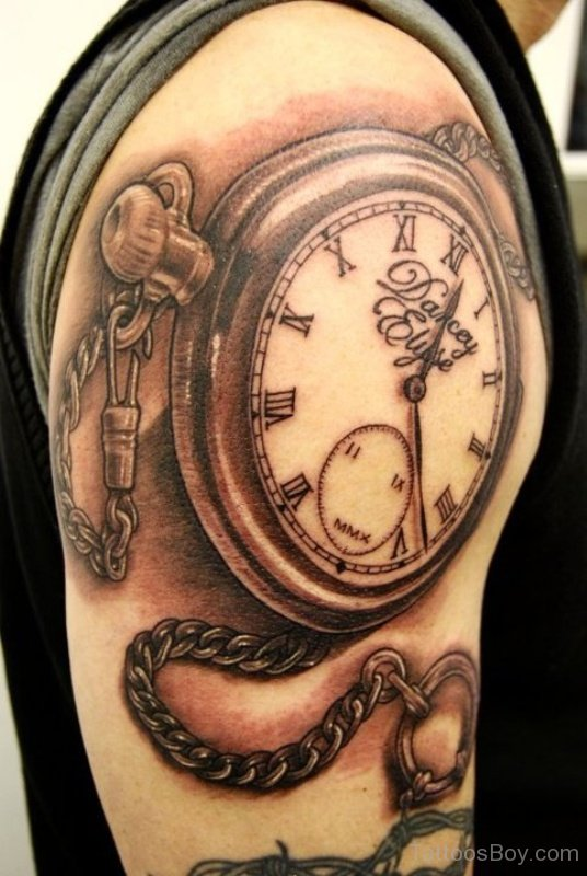 Pocket watch tattoo images designs for Pocket watches tattoos