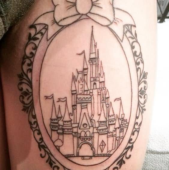 castle tattoo images designs. Black Bedroom Furniture Sets. Home Design Ideas