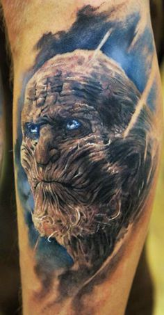 Scary Monster Tattoo by Domantas Parvainis