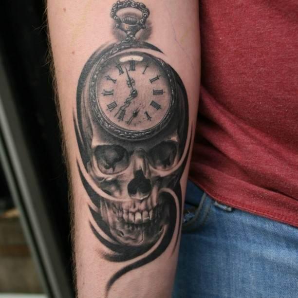 pocket watch tattoo images designs. Black Bedroom Furniture Sets. Home Design Ideas