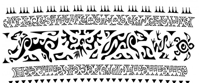 Tribal Armband Tattoo Design Idea