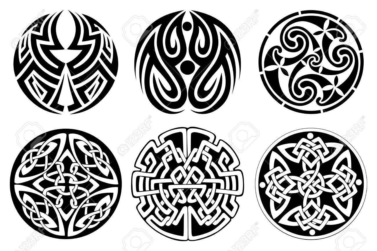 Celtic tattoo images designs for Circular symbols tattoos