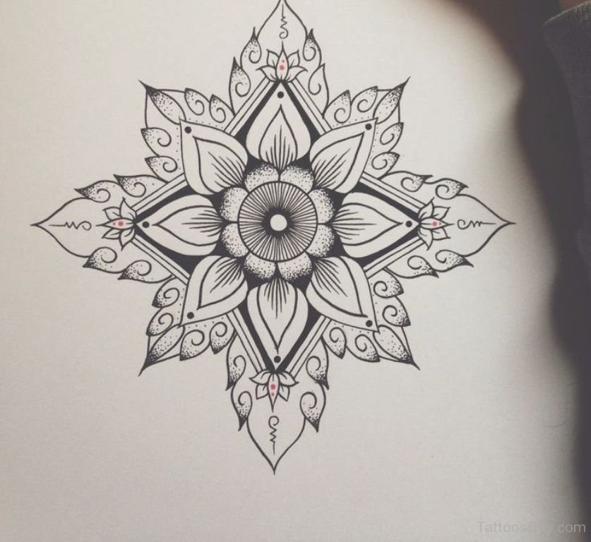 9 Mandala Tattoo Designs And Ideas: Mandala Tattoo Images & Designs