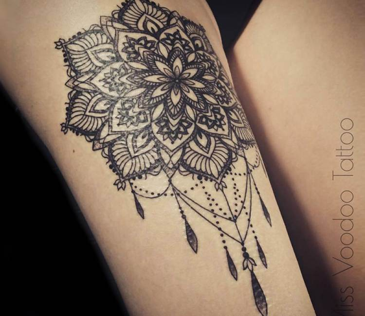 Mandala Tattoo Images & Designs