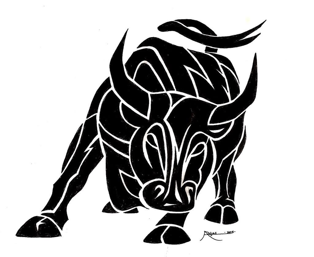 bull tattoo images designs. Black Bedroom Furniture Sets. Home Design Ideas