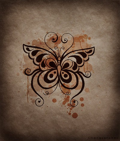 butterfly tattoo images designs. Black Bedroom Furniture Sets. Home Design Ideas