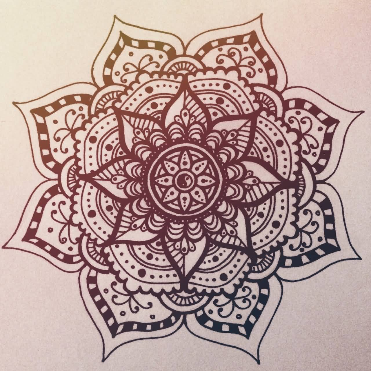 22 Mandala Tattoo Designs Ideas: Mandala Tattoo Images & Designs