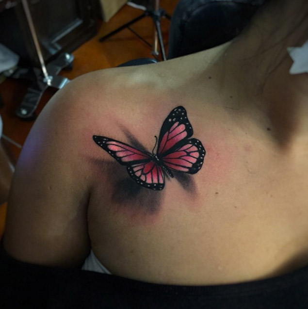 Butterfly Tattoo Images Amp Designs