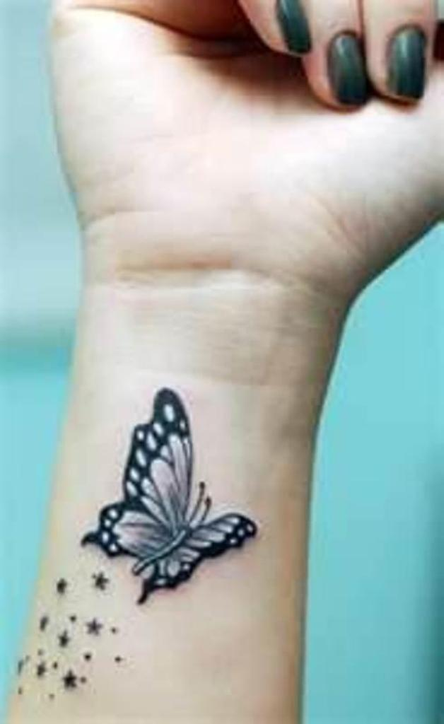 Butterfly Tattoo Designs and Meanings