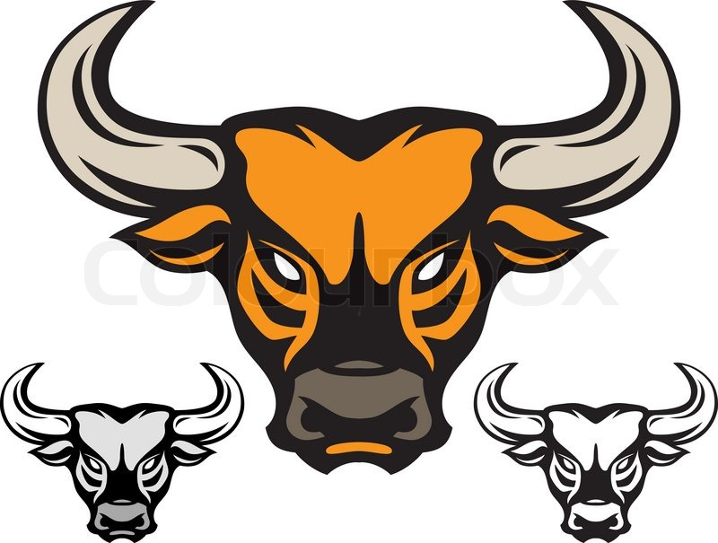 Taurus Bull Head Tattoos Design