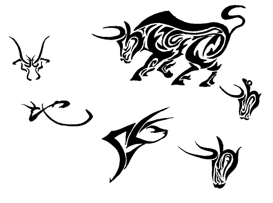 Bull Tattoo Images Designs