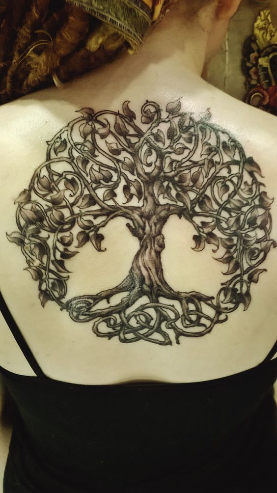 ccd68708255f6 Celtic tree of life tattoo designs. Tattoo designs symbols c. Feminine  tattoos are usually more delicate designs compared to tattoos for men.