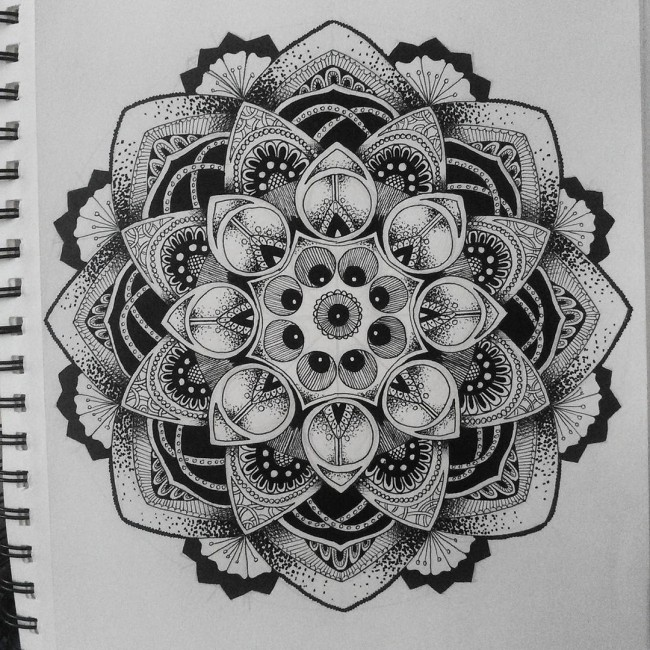 Mandala Tattoo Design For Men
