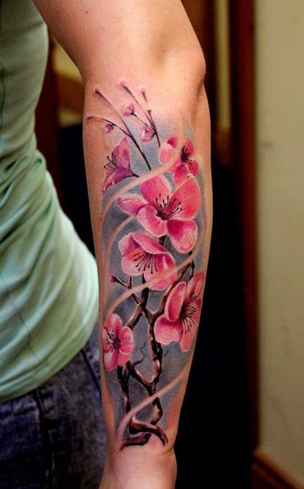 Cherry Blossom Tree Tattoo On Wrist: Cherry Blossom Tattoo Images & Designs