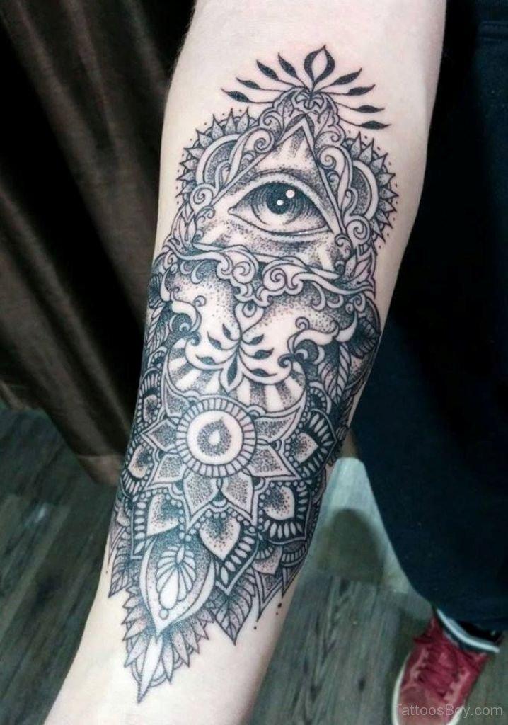Illuminati Eye Mandala...