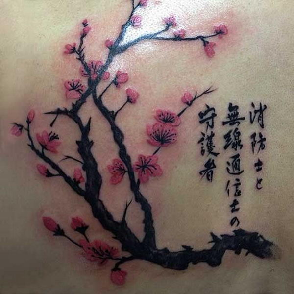Japanese Cherry Blossom Tattoo