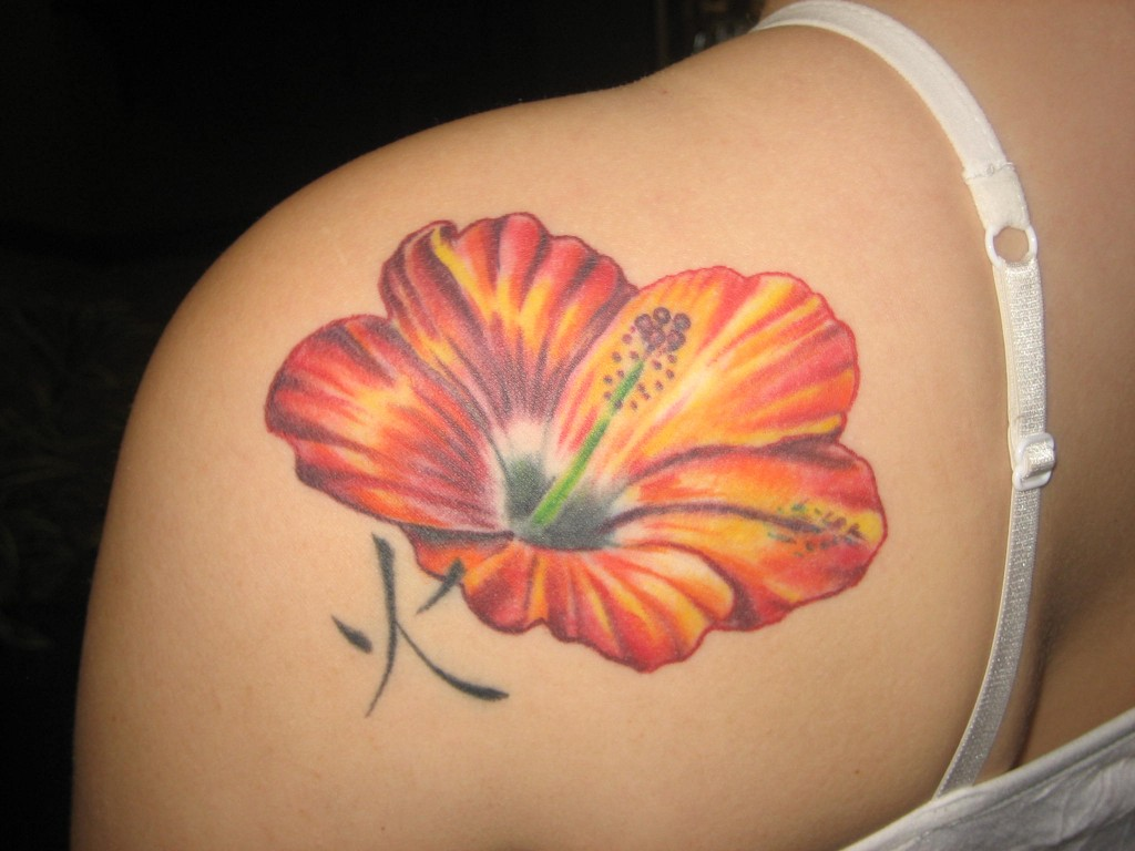 symbolism in purple hibiscus Take the tahitian meaning one step further by adding a red hibiscus flower in a tribal tattoo design center the hibiscus bloom on the tribal tattoo behind your shoulder or foot to display your ability to do anything that gets on your way.