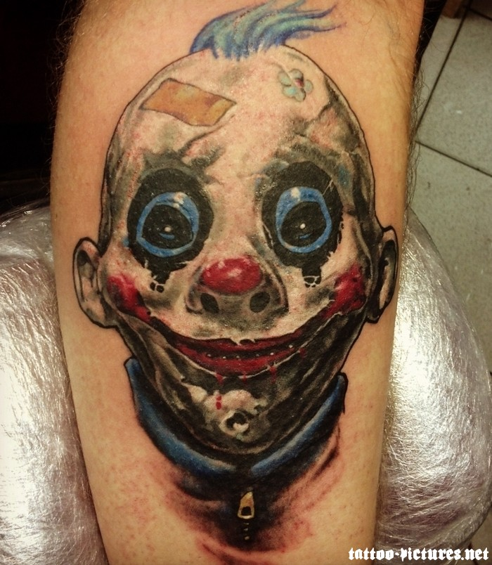 Clown Tattoo Images & Designs