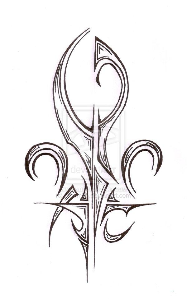 fleur de lis tattoo images amp designs
