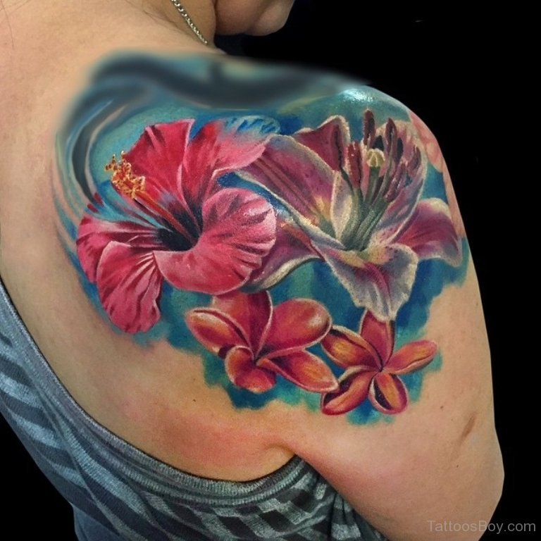 Floral Tattoo Images Designs: Hibiscus Tattoo Images & Designs