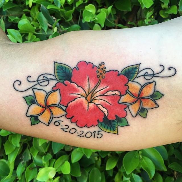 hibiscus tattoo images designs. Black Bedroom Furniture Sets. Home Design Ideas
