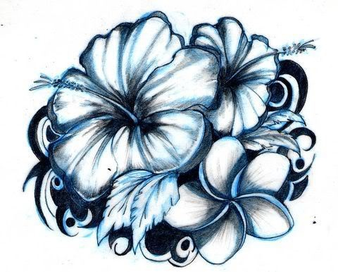 Nice Hibiscus Flowers Tattoo Design,Middle Class Home Furniture Design Hall