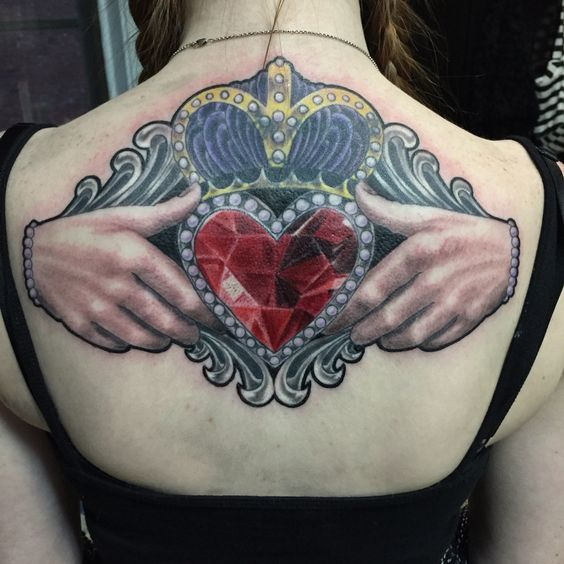 Claddagh Ring Tattoo Images