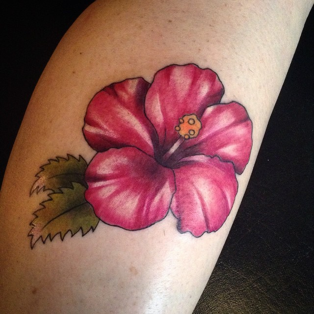 24 Hibiscus Flower Tattoos Designs Trends Ideas: Hibiscus Tattoo Images & Designs