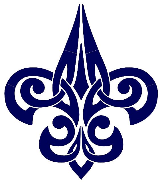 fleur de lis tattoo images designs. Black Bedroom Furniture Sets. Home Design Ideas