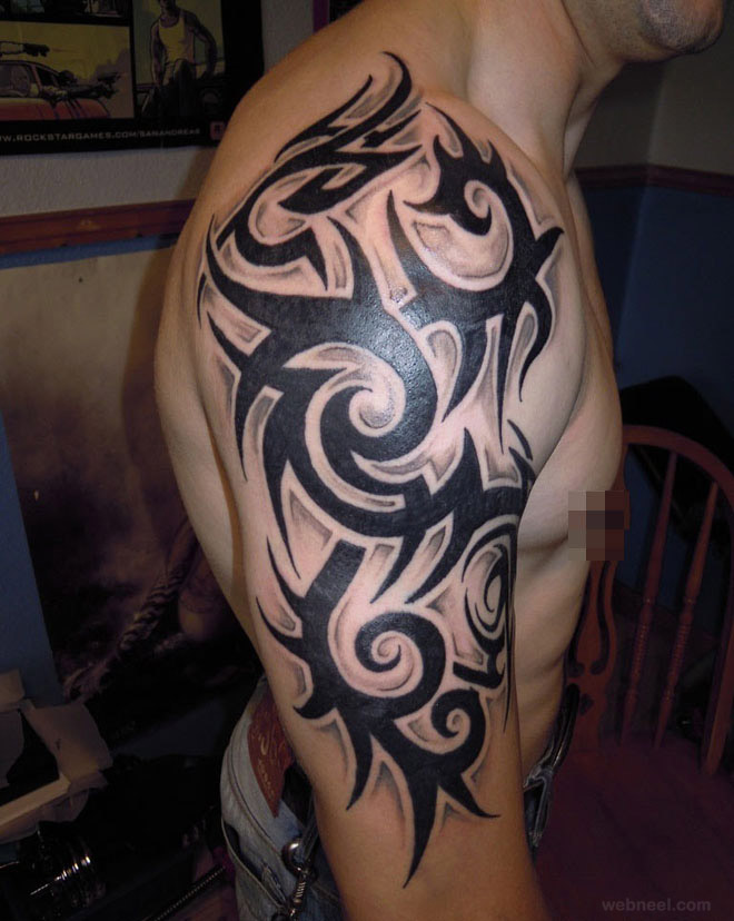 African Tribal Tattoo Half Sleeve: Tribal Tattoo Images & Designs