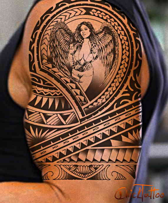 Tribal Tattoo Images & Designs