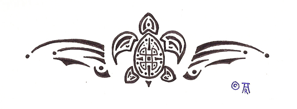 Sae Lion Flag Tattoo Design