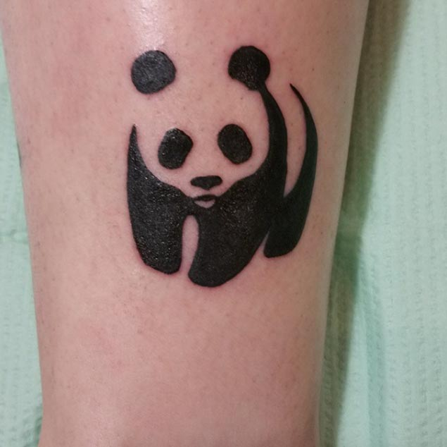 Panda tattoo images designs for How to make a tattoo painless
