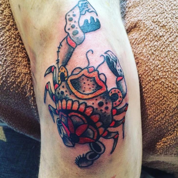 crab tattoo images amp designs