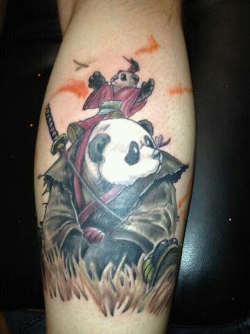 panda tattoo images designs. Black Bedroom Furniture Sets. Home Design Ideas