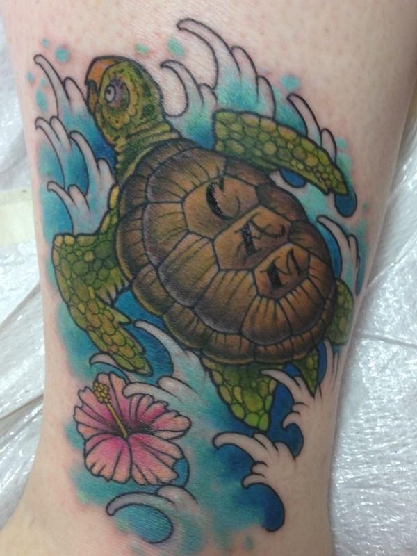 Tribal Turtle Tattoo - Hawaiian Turtle Designs Ideas (2019)