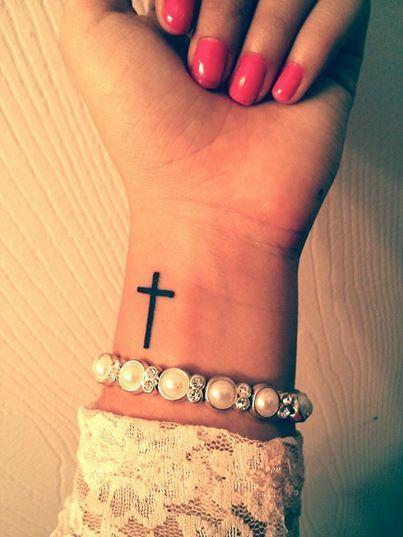 Фото тату кресты на руке