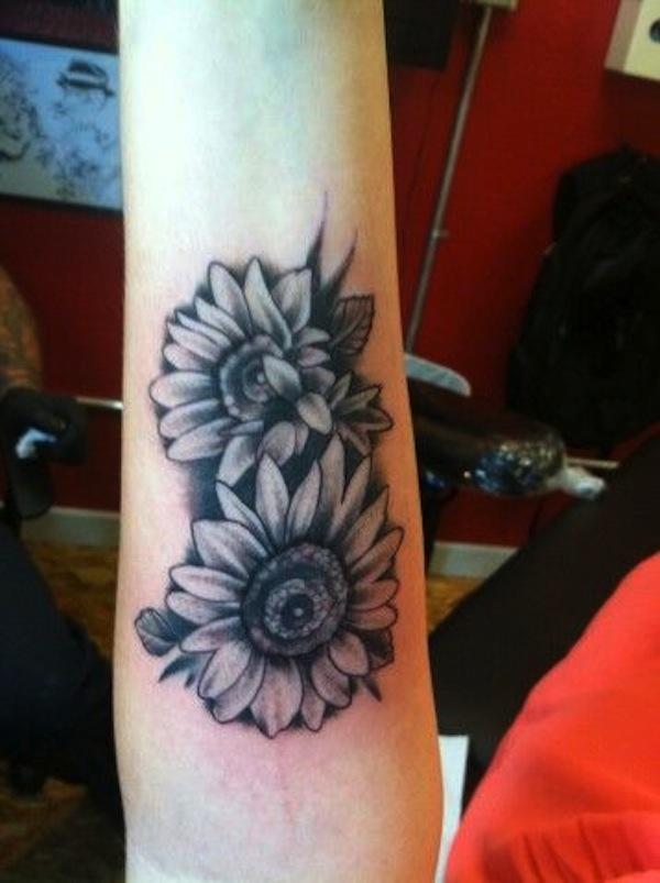 Sunflower Tattoo Images Amp Designs