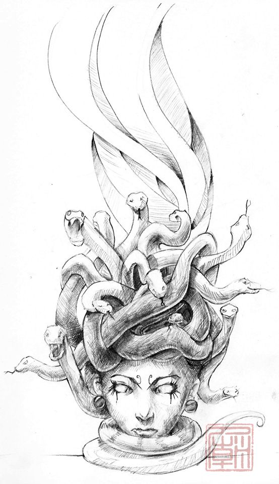 medusa tattoo designs