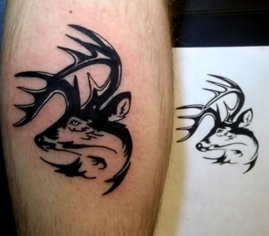 26 Deer Tattoos: Deer Tattoo Images & Designs