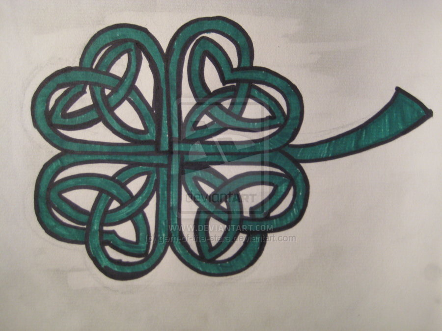 Clover Tattoo Images & Designs