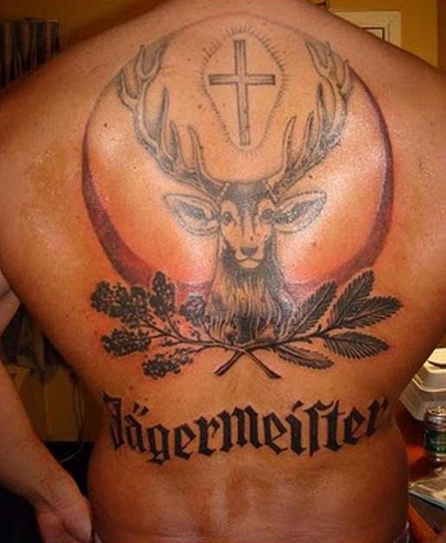 Tattooz Designs Back Tattoos: Deer Tattoo Images & Designs