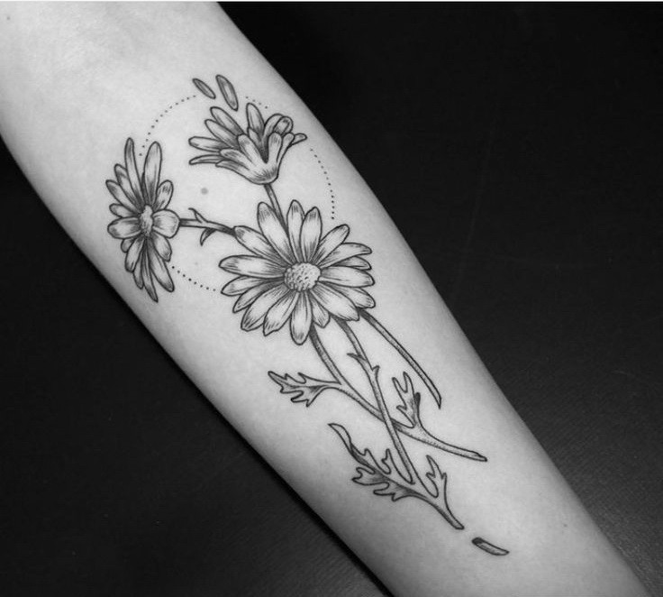 Daisy tattoo images designs for Daisy of love tattoo sleeve