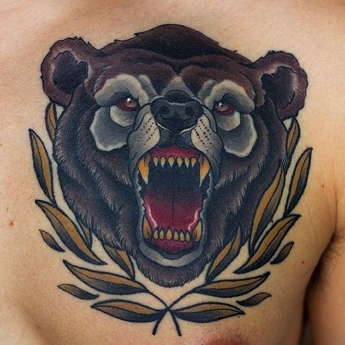 bear tattoo images amp designs