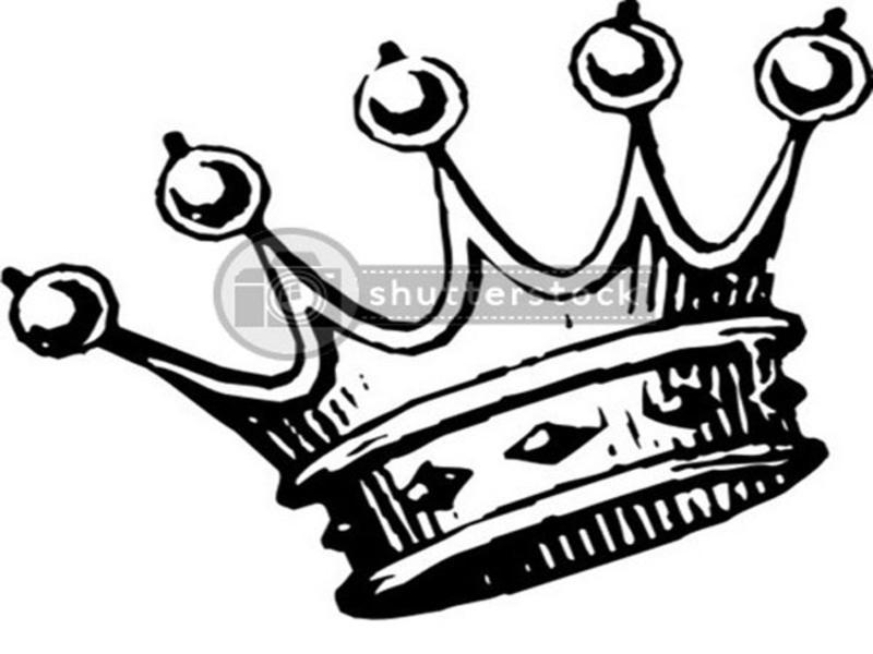 Stencil King Crown: Crown Tattoo Sketch Sample