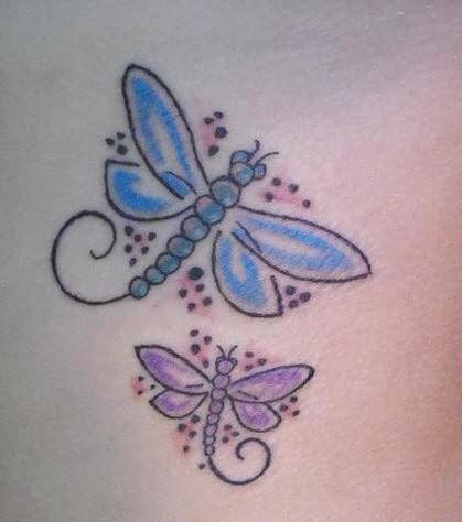 dragonfly tattoo images designs. Black Bedroom Furniture Sets. Home Design Ideas