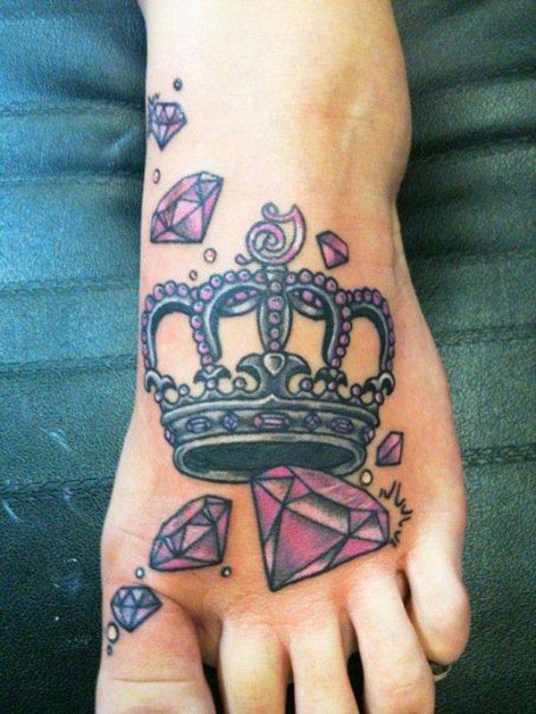 45 Cute Foot Tattoos