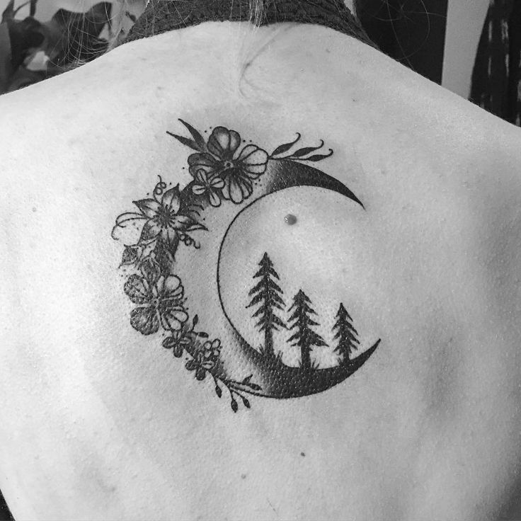 Moon Tattoo Images & Designs